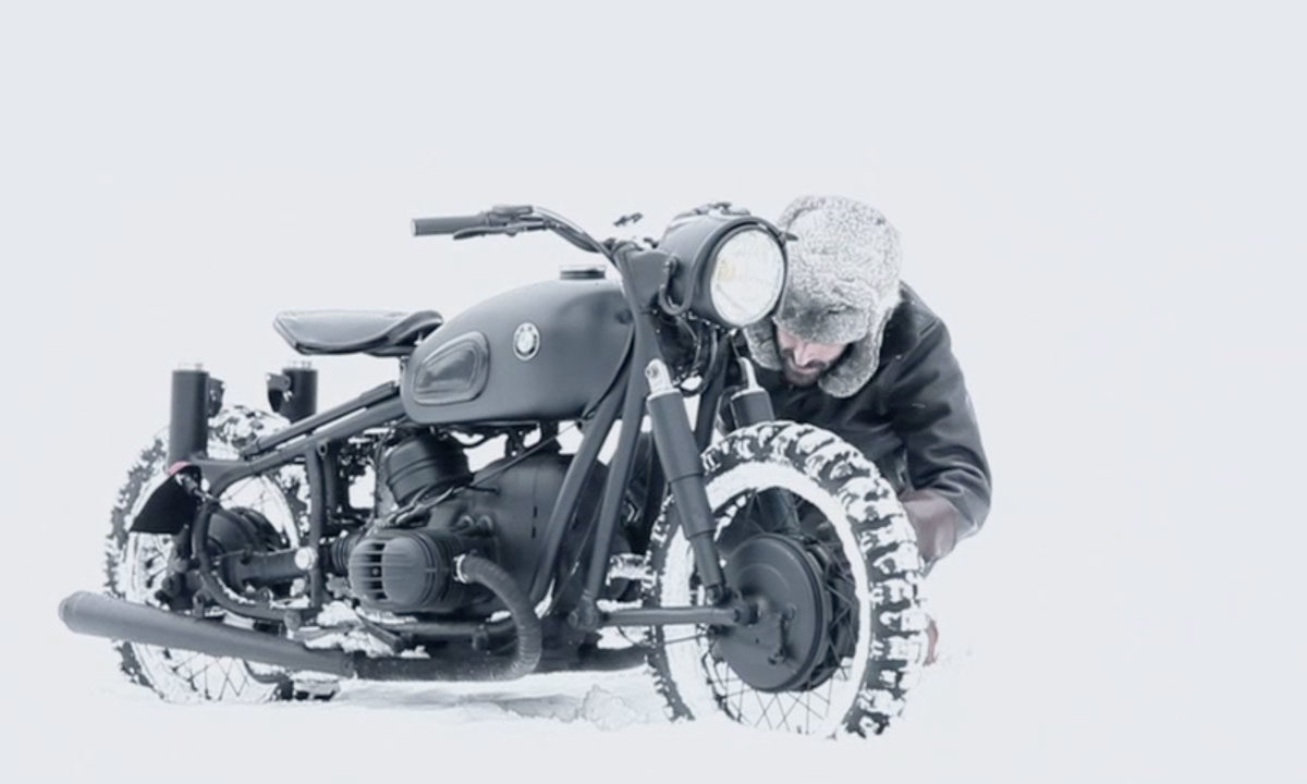 Return of the Cafe Racers - Blitz BMW R60 Great Escape