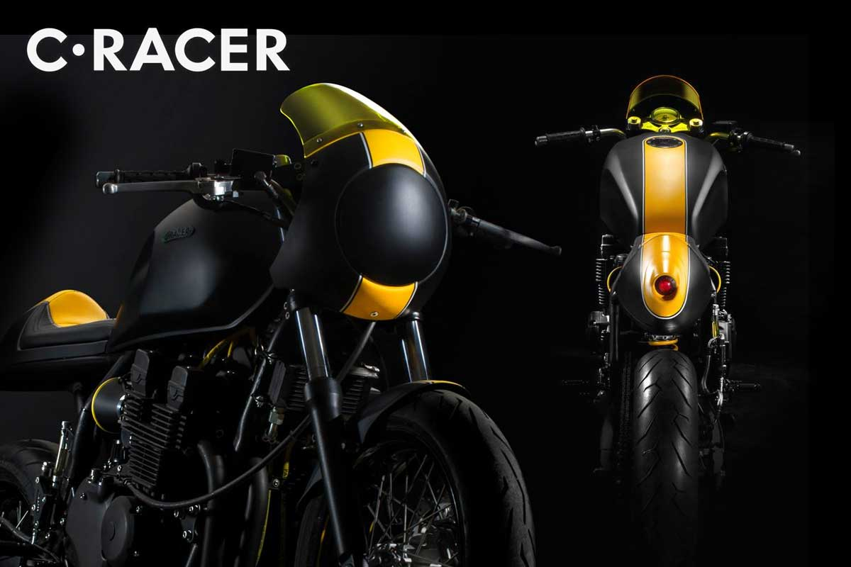 C Racer cafe racer parts