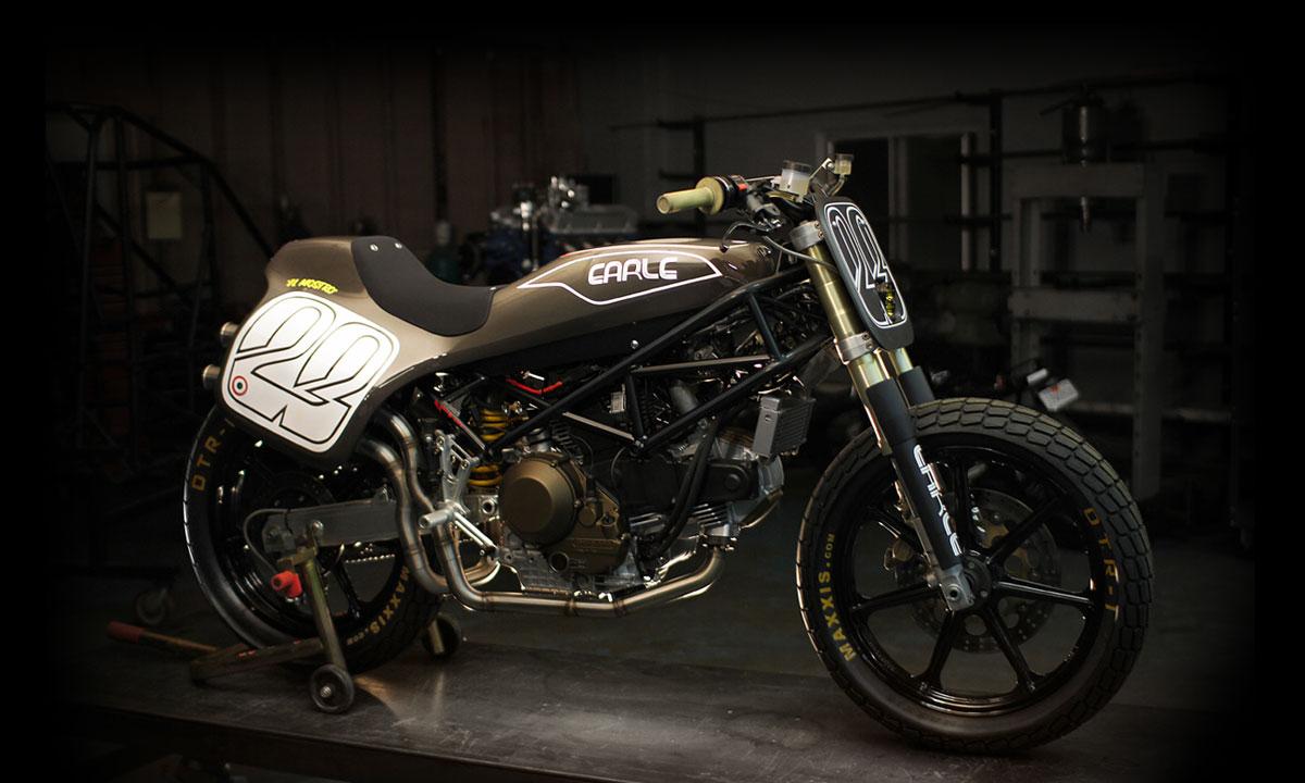 Ducati Monster Flat Tracker