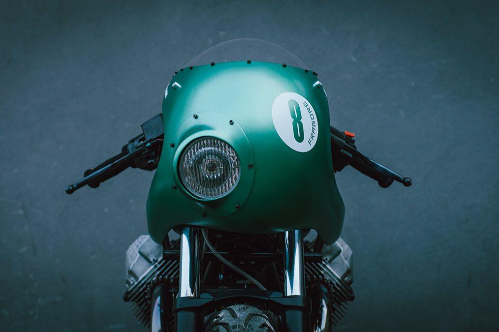 Teamwork - The Fragore Moto Guzzi SP3