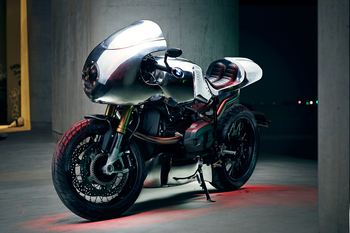 BMW R9T High Octane Speedshop