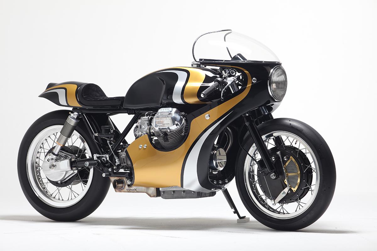 Moto Guzzi cafe racer stile italiano