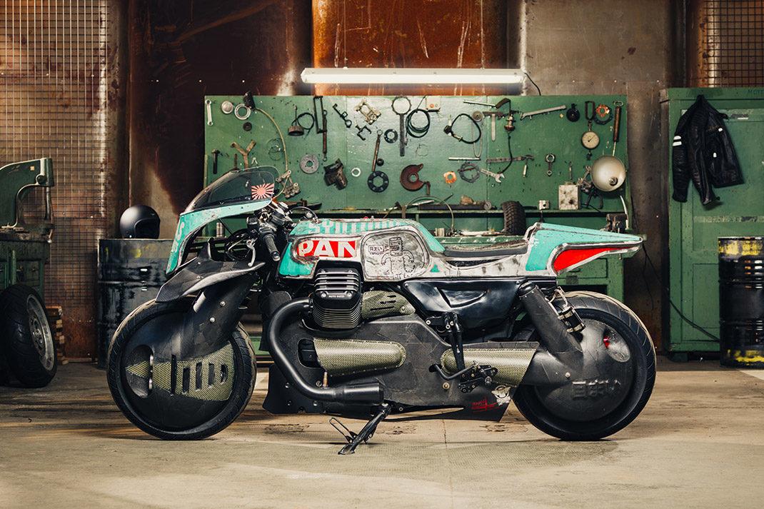 Moto Guzzi Audace custom motorcycle
