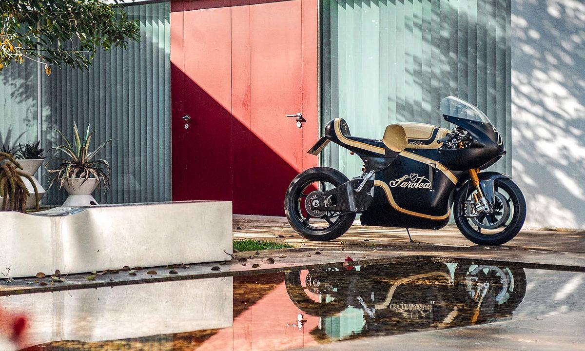 Return of the Cafe Racers - Battery Powered Belgian – Sarolea Manx7