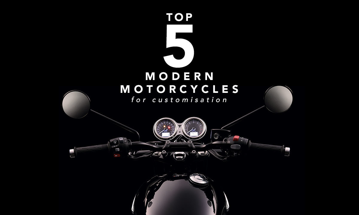 Top 5 modern motorcycles for cafe racer
