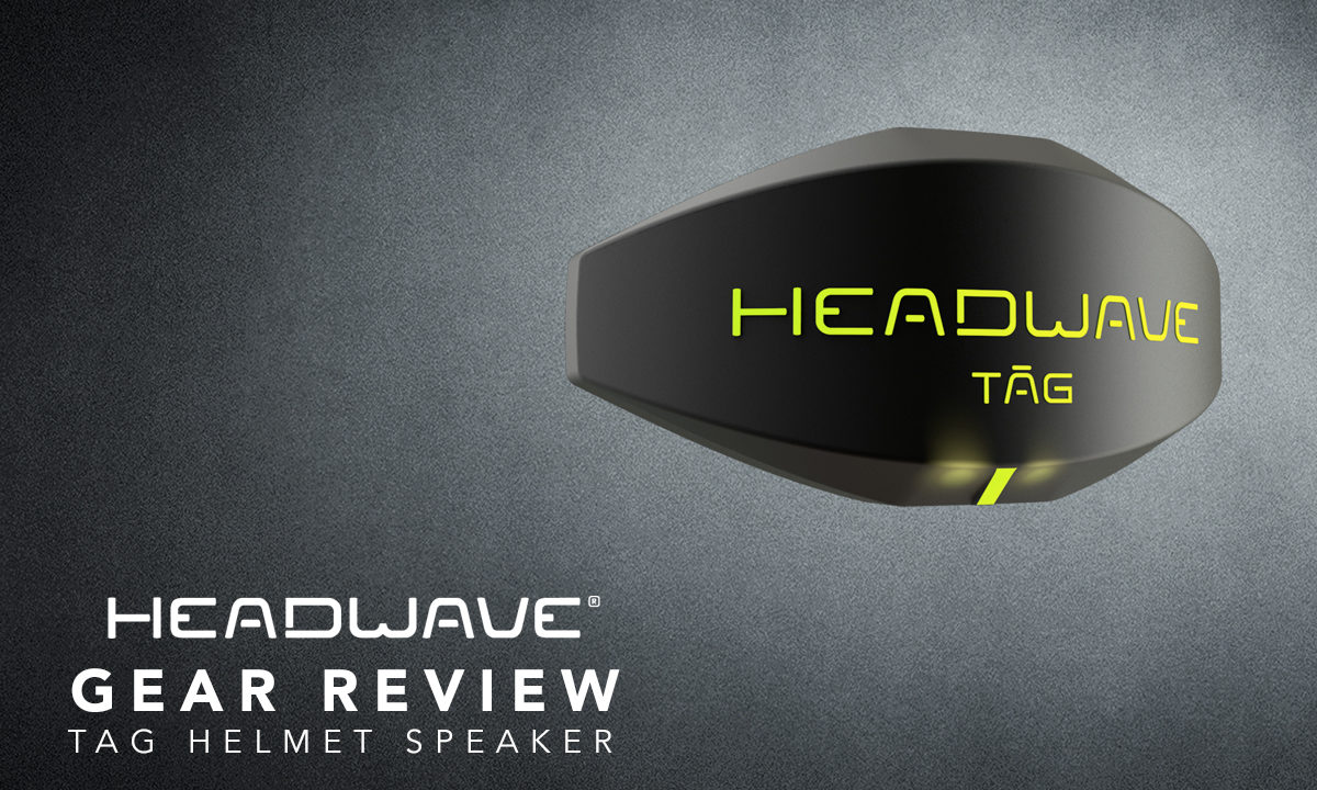 Return of the Cafe Racers - Gear Review – Headwave Helmet Speaker