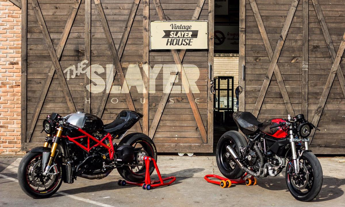 Ducati street fighter scrambler