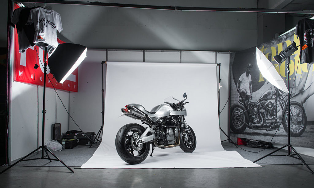 Return of the Cafe Racers - Proud Father – White Collar Benelli BN 600R