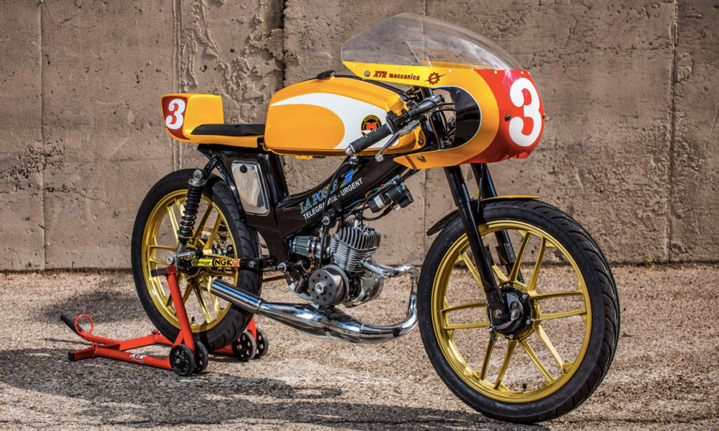 Return of the Cafe Racers - Express Mail – XTR Pepo Mobylette SP 90