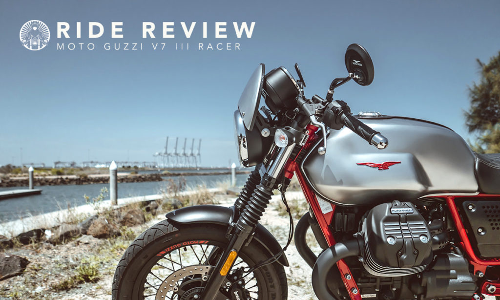 Return of the Cafe Racers - Moto Guzzi V7 III Racer Ride Review