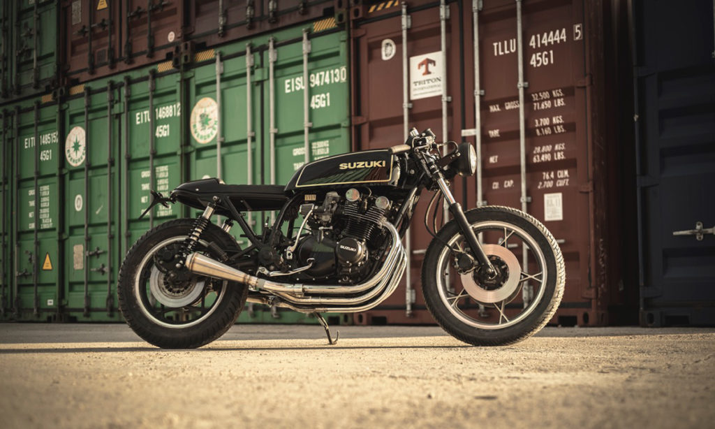 Return of the Cafe Racers - Simply Stunning – NitroCycles Suzuki GS850