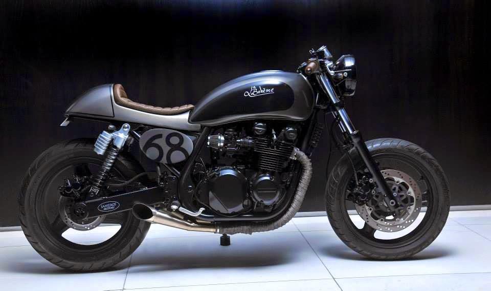 Return of the Cafe Racers - La Boheme Kawasaki Zephyr 750
