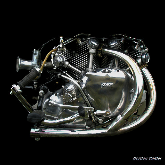Return of the Cafe Racers - The most beautiful engine of all – Vincent motorcycles