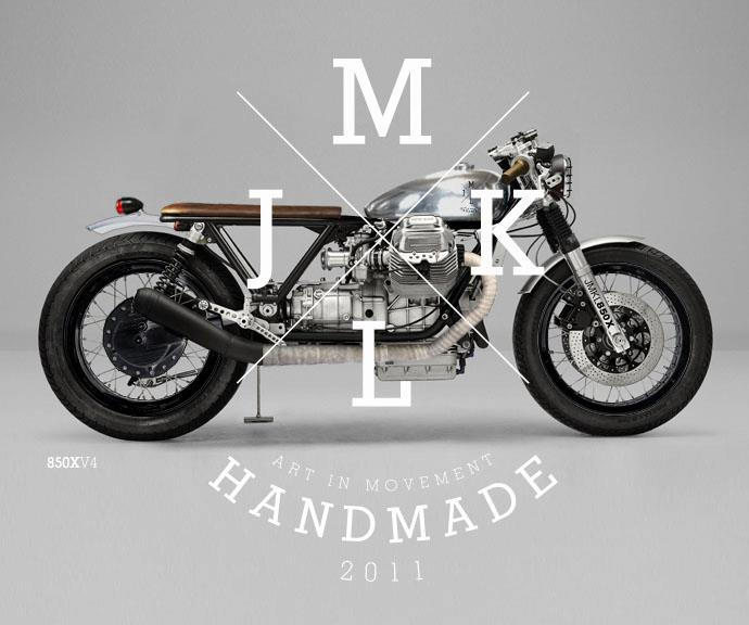 Return of the Cafe Racers - JMKL Moto Guzzi concepts