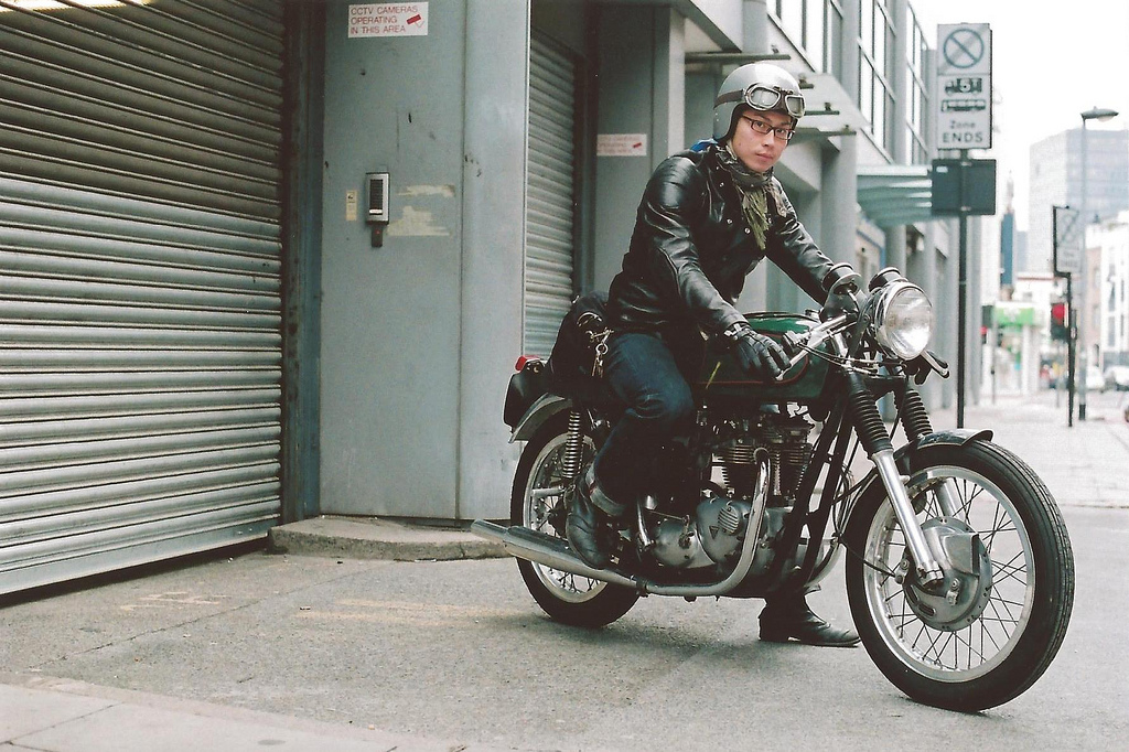 Return of the Cafe Racers - Classic motorcycle images by Paul Hart