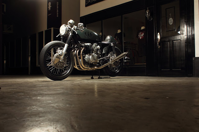 Return of the Cafe Racers - Beautiful bikes from Benjie
