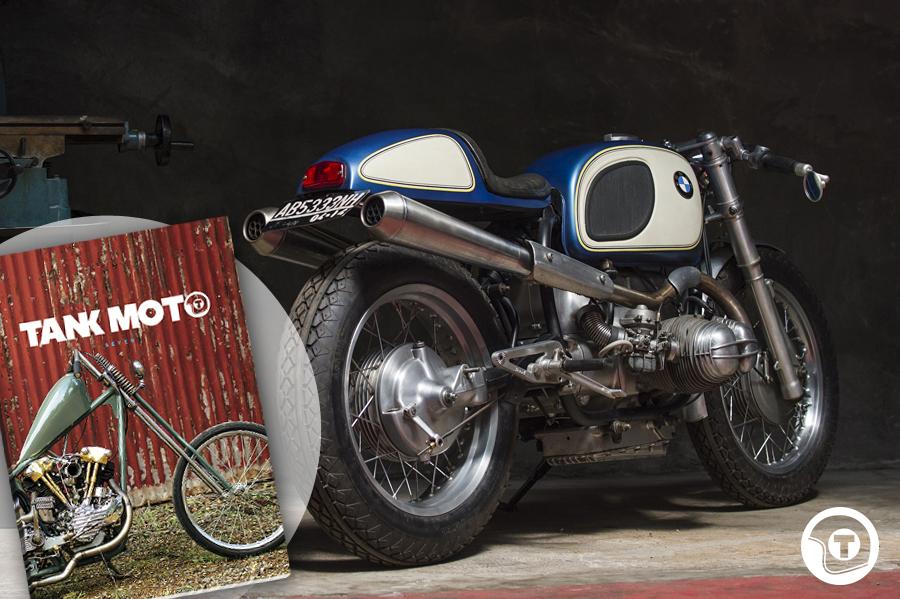 Return of the Cafe Racers - Tank Moto Kickass Cafe Racer