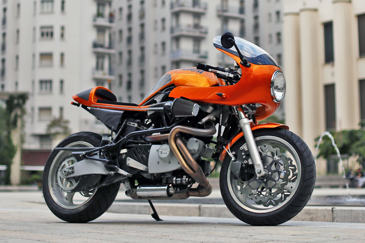 Return of the Cafe Racers - IncrediBuell M2 Cafe Racer