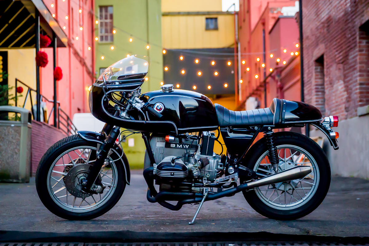 A Better Boxer James Bmw R80 Cafe Racer Return Of The Cafe Racers