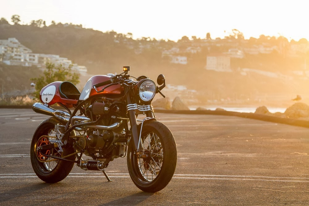 Return of the Cafe Racers - Buell Lightning X1 Bully