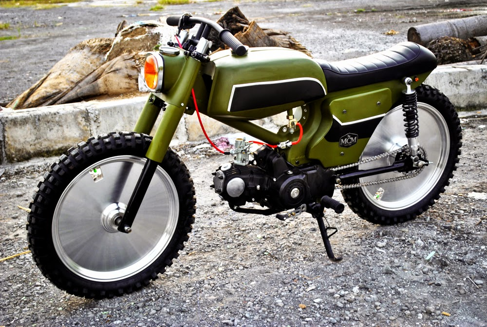 Return of the Cafe Racers - Minority Customs Cub Green