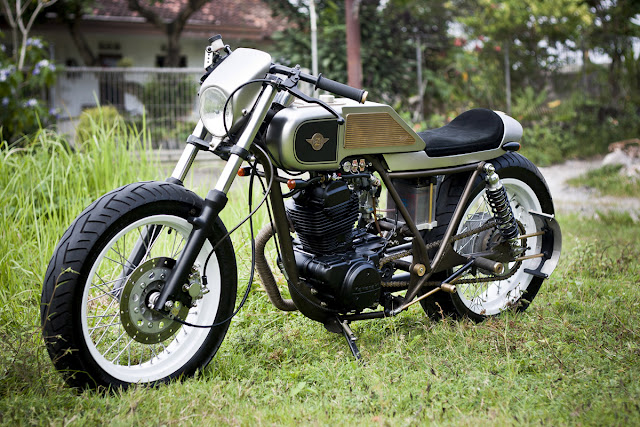 Return of the Cafe Racers - Kawasaki KZ200 12th Attempt