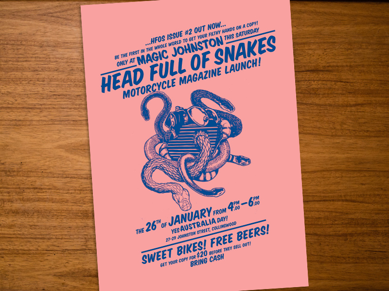 Return of the Cafe Racers - Head Full of Snakes issue 2