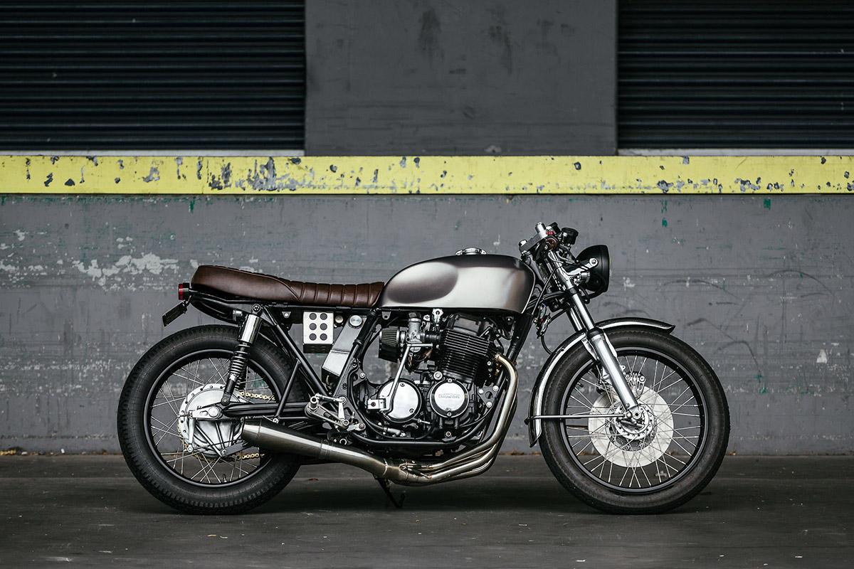 Return of the Cafe Racers - First Timer – Honda CB750 Cafe Racer