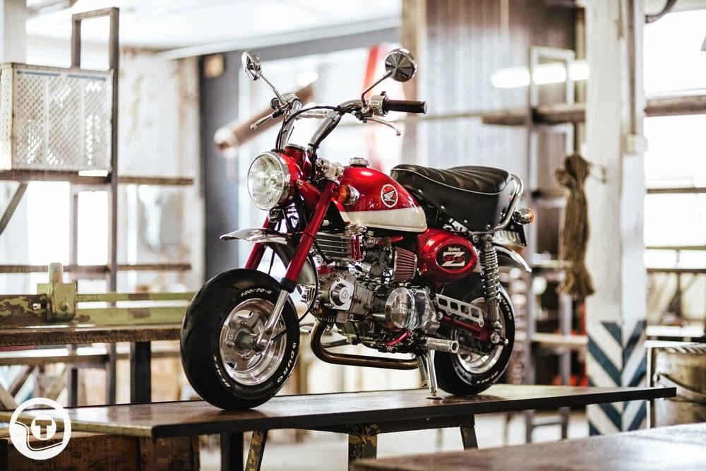 Return of the Cafe Racers - Great Ape – Honda Monkey Bike Madness