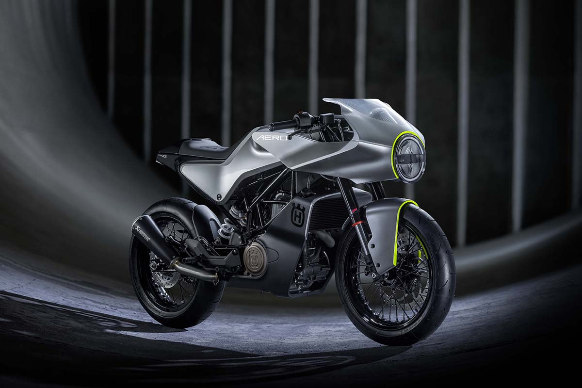 Return of the Cafe Racers - Taking to the Streets – Husqvarna Aero 401