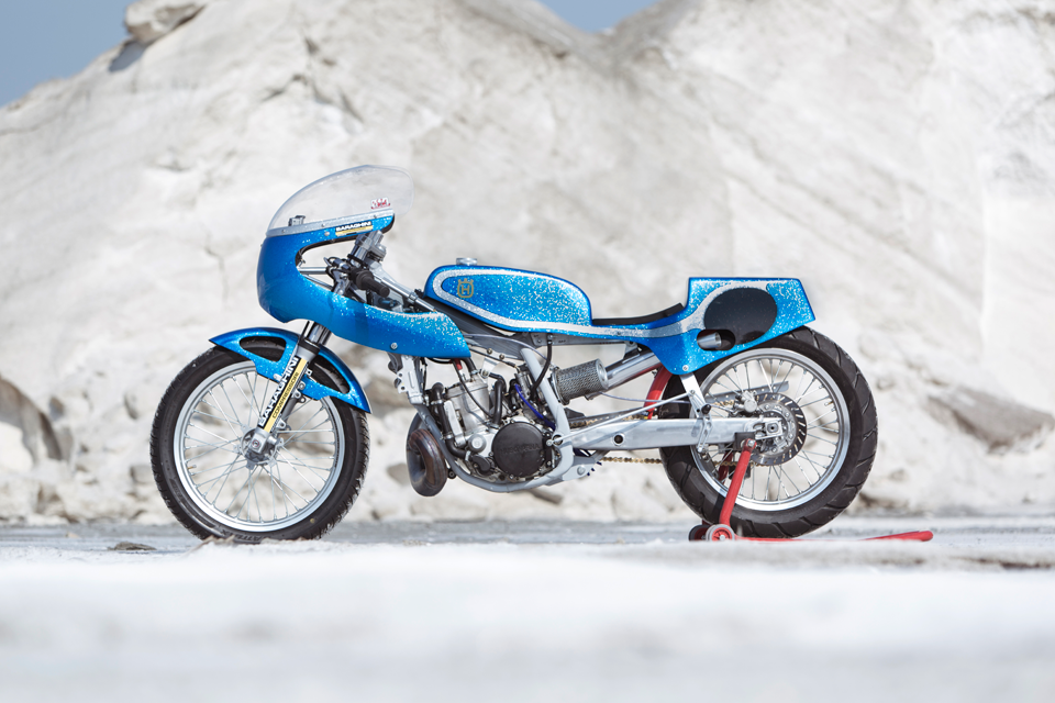 Return of the Cafe Racers - Wasted Years Husqvarna WR360