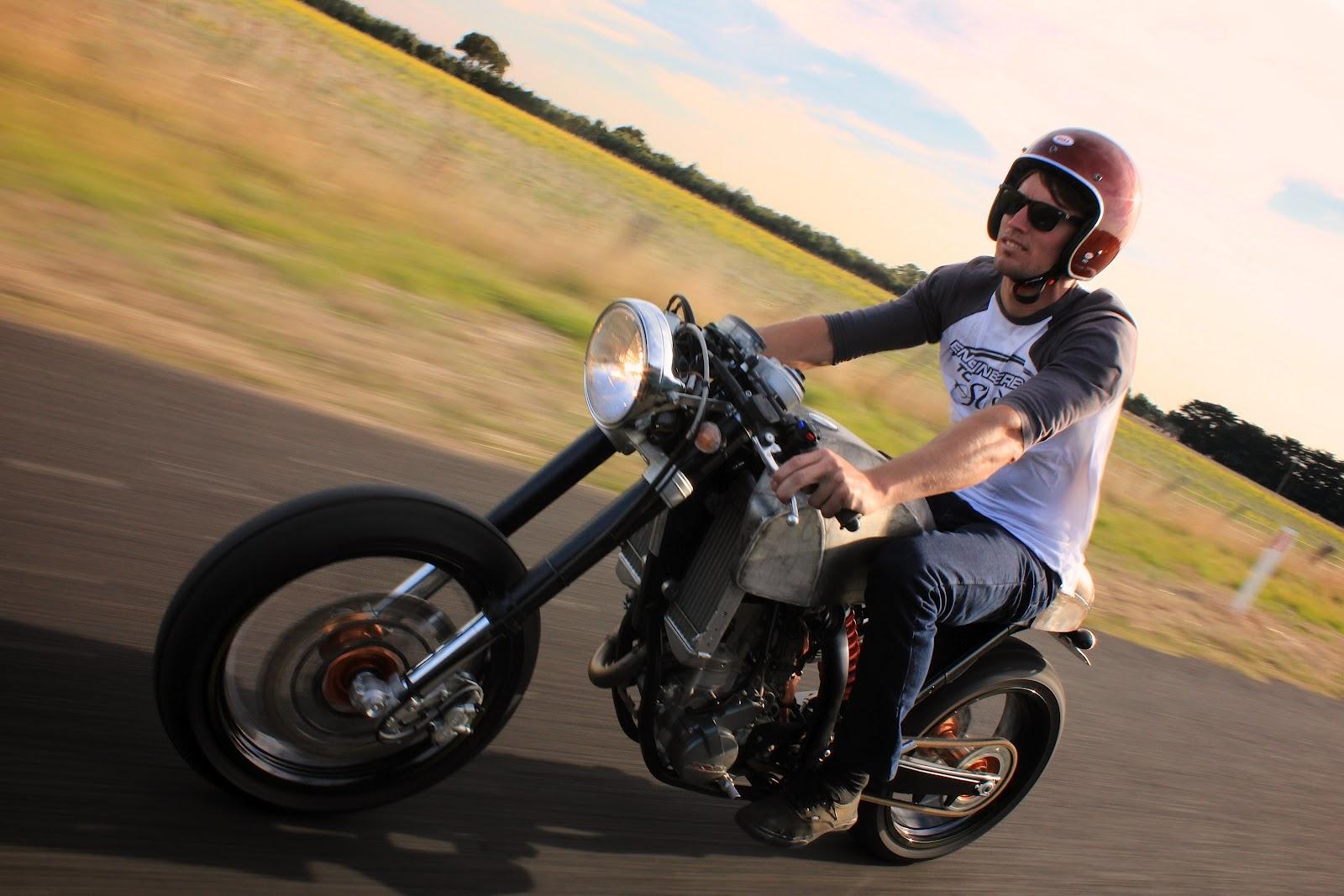 Return of the Cafe Racers - Engineered to Slide KTM Cafe Racer