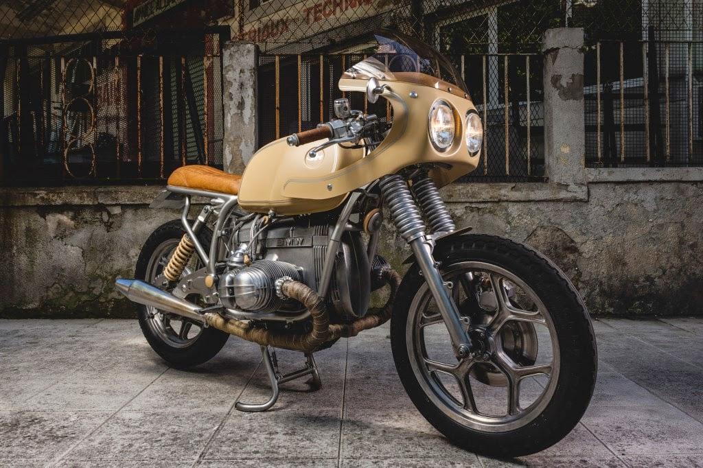 Return of the Cafe Racers - Jerikan BMW R80 Cafe Racer