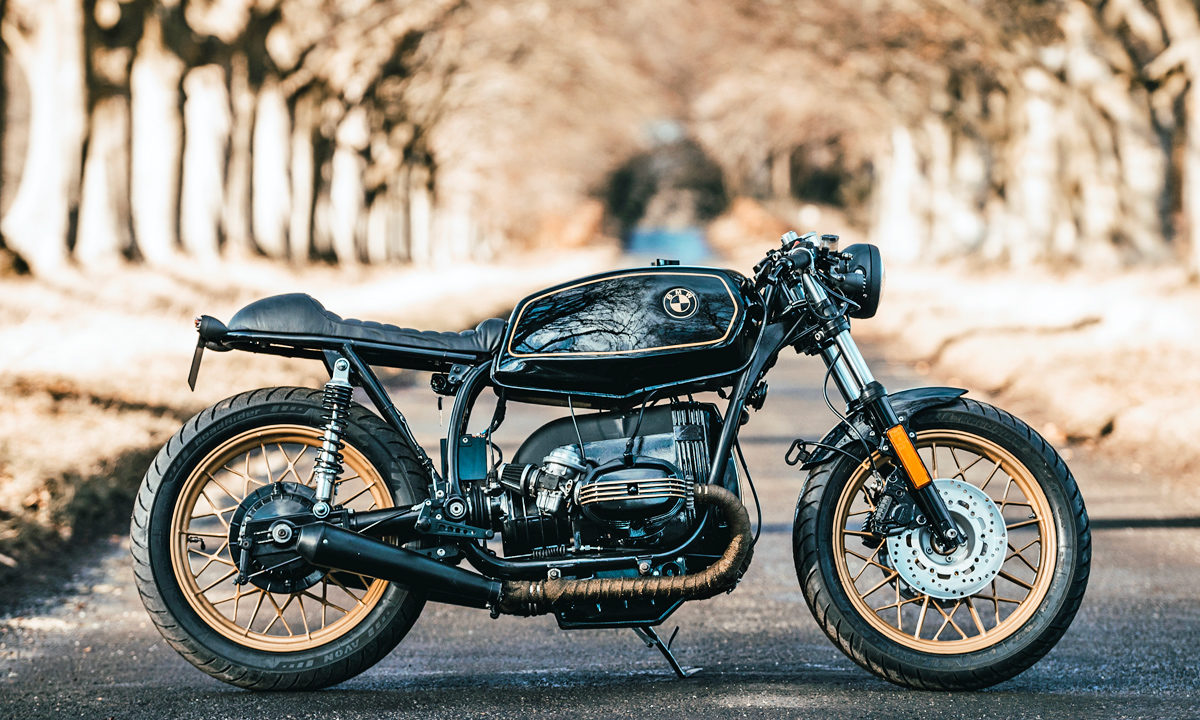 Black Beauty Jm Customs Bmw R45 Return Of The Cafe Racers