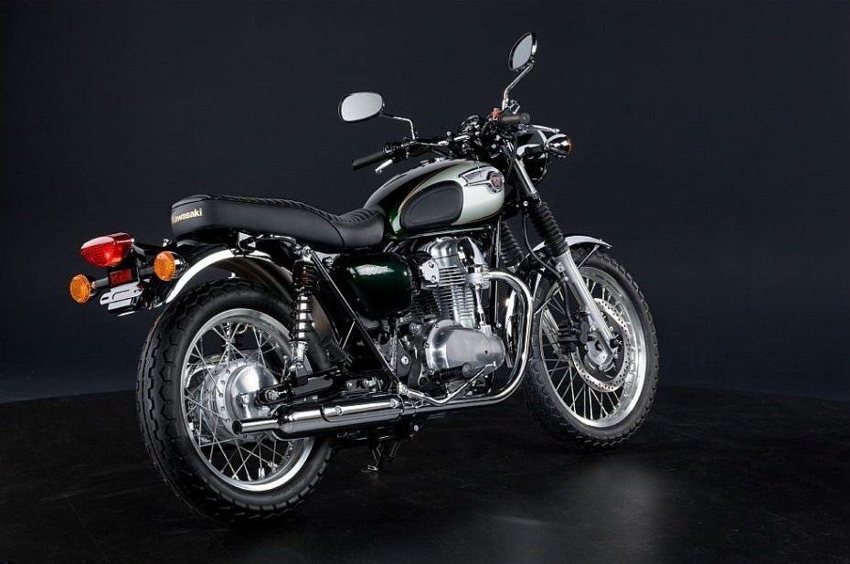 Return of the Cafe Racers - Kawasaki W800 redux