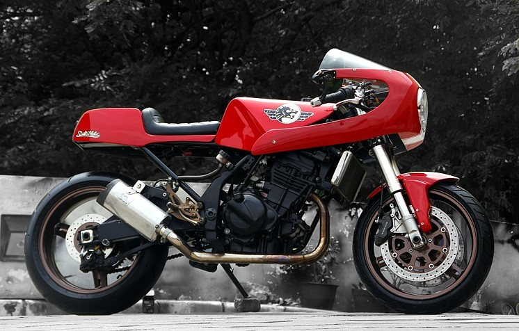Return of the Cafe Racers - Readers Rides: Kwaka 125 Street Racer
