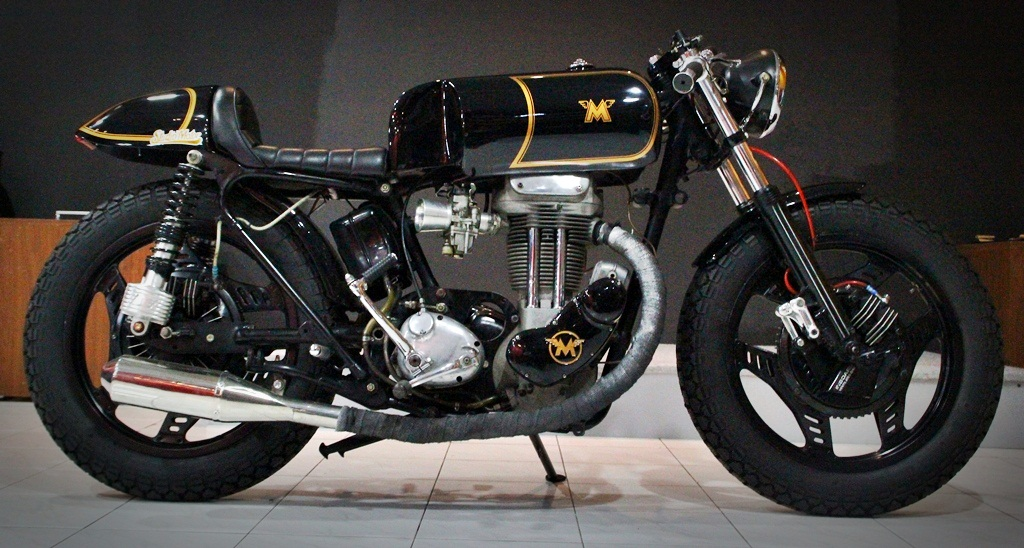 Return of the Cafe Racers - Matchless Cafe Racer by Studio Motor