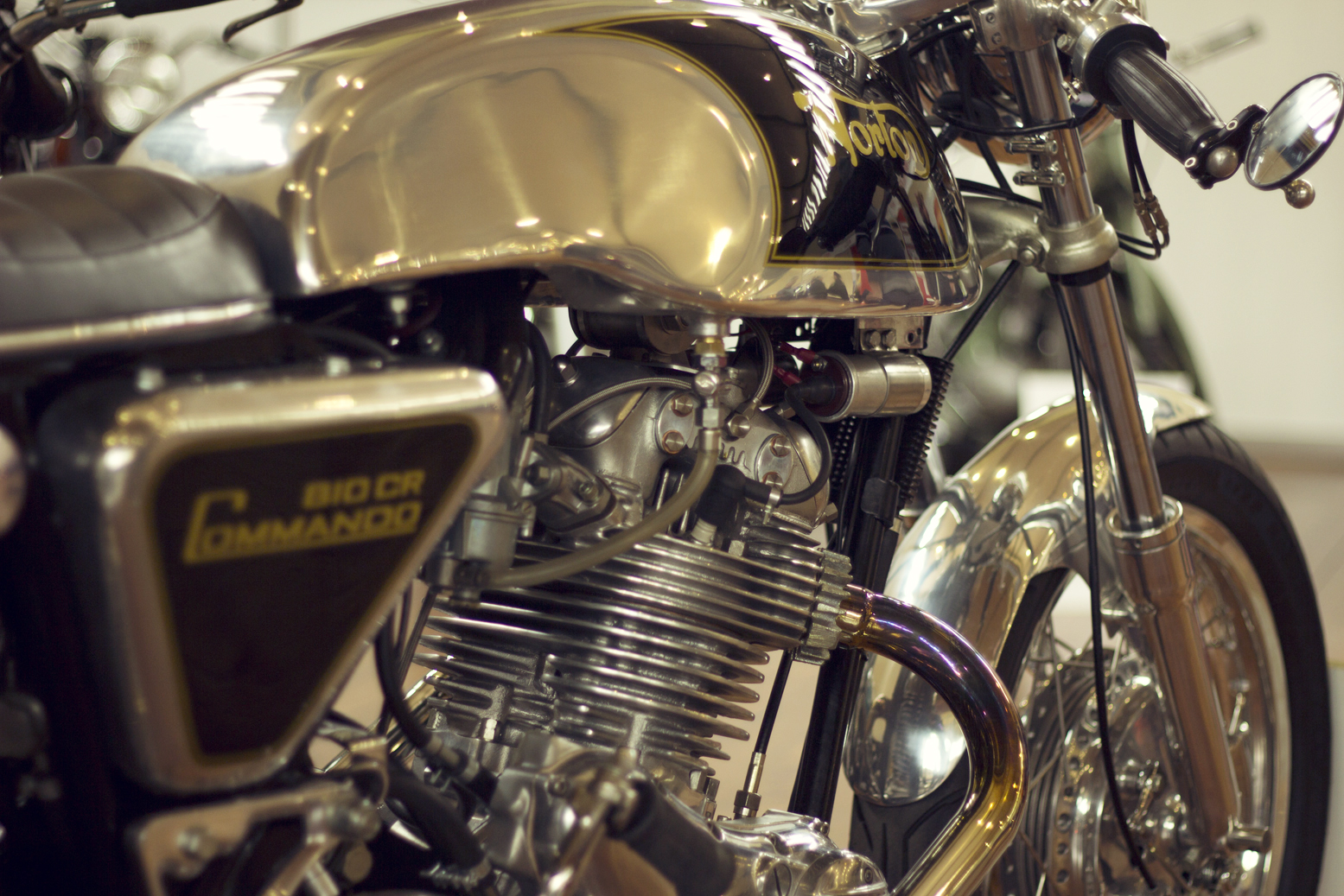 Return of the Cafe Racers - Motorclassica 2012 motorcycle highlights