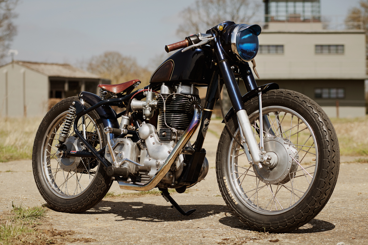 Return of the Cafe Racers - The Fox Royal Enfield Bullet