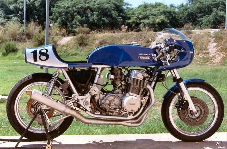 Return of the Cafe Racers - Rickman motorcycles