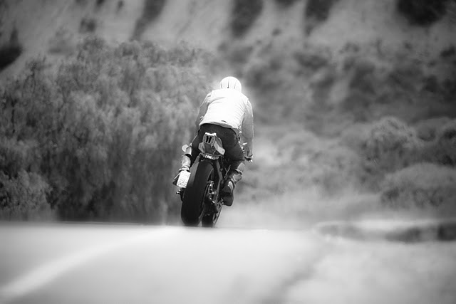 Return of the Cafe Racers - Black & White