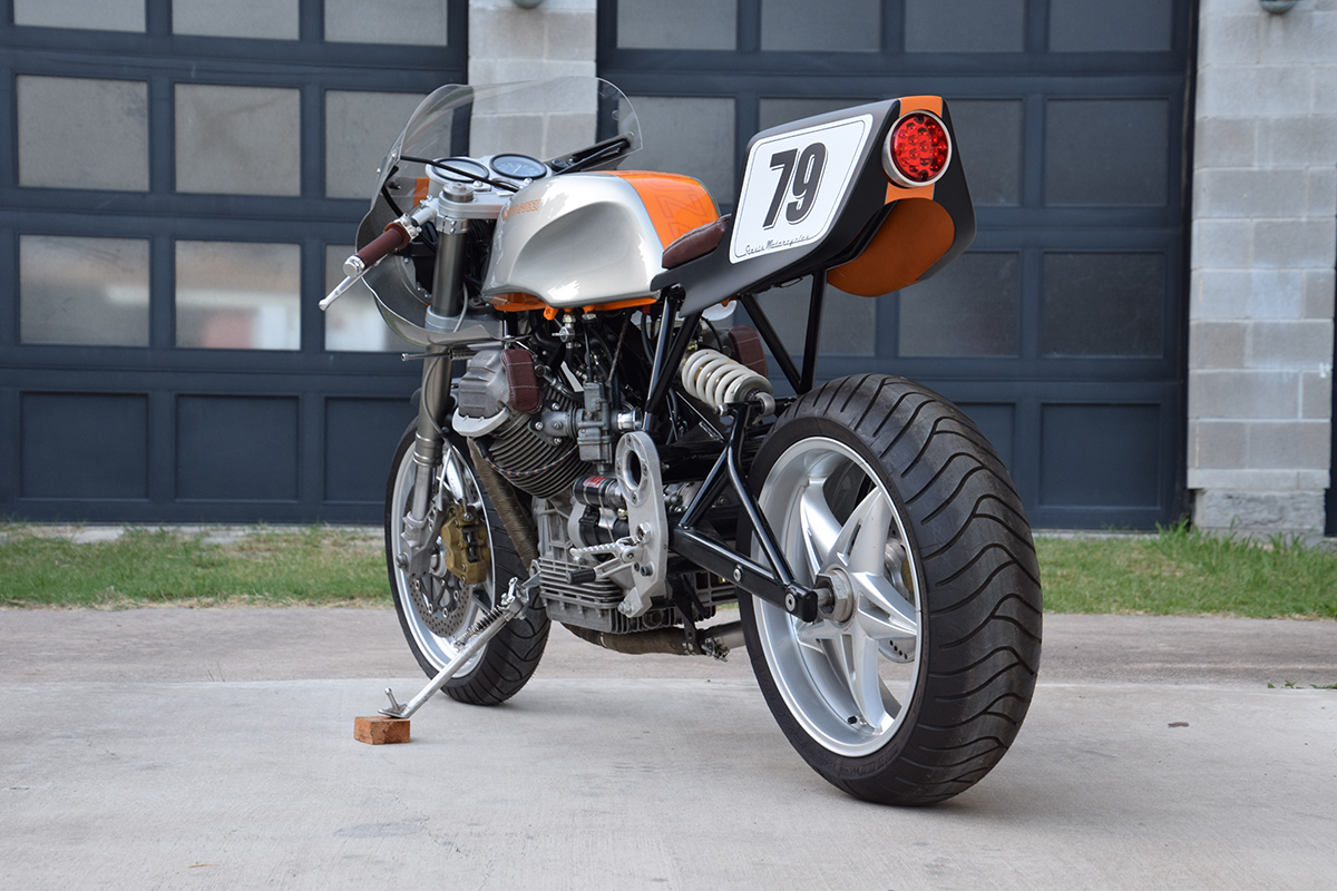 Return of the Cafe Racers - Tried and True – Stasis Moto Guzzi G5 1000