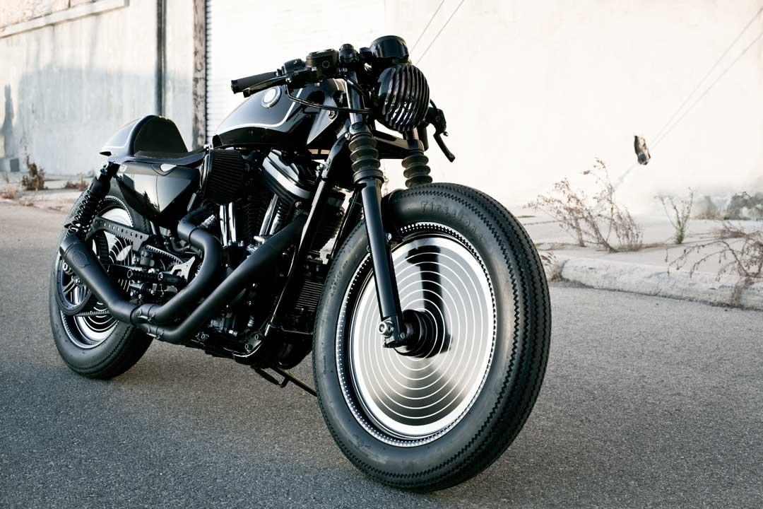 Return of the Cafe Racers - RSD Technics Harley 883 Sportster