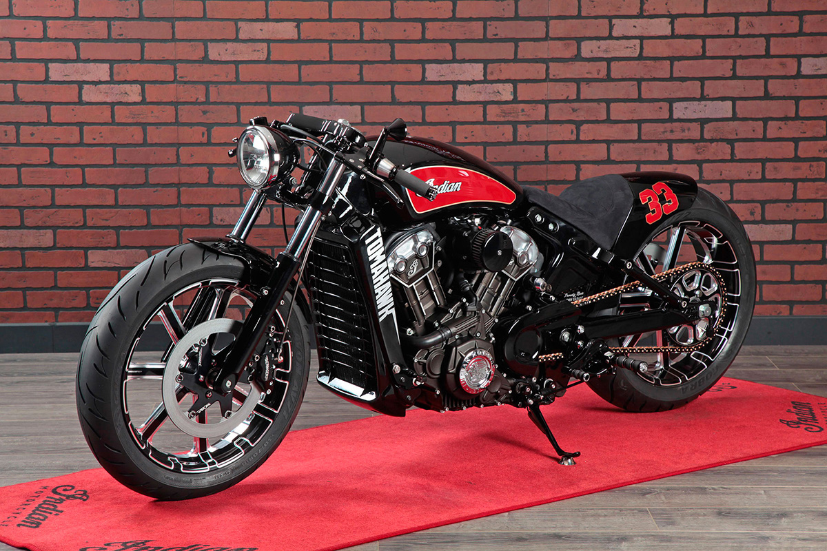 Return of the Cafe Racers - Tomahawk – V-Twin Garage Indian Scout
