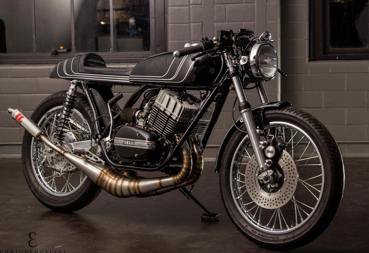 Return of the Cafe Racers - Tasteful 2 Banger – Twinline Yamaha RD350