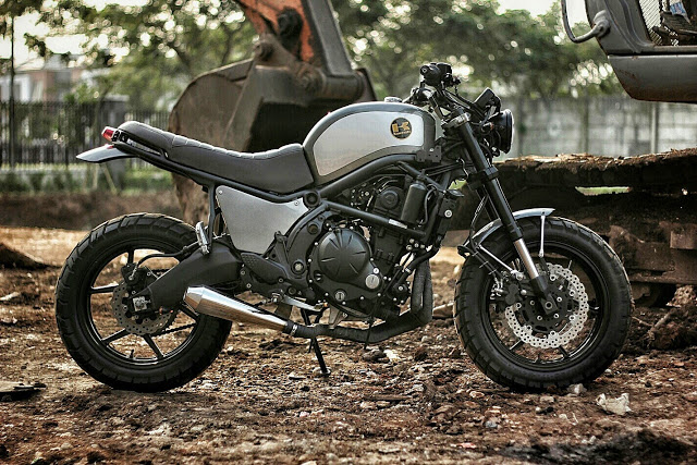 Return of the Cafe Racers - The Temper Kawasaki Versys