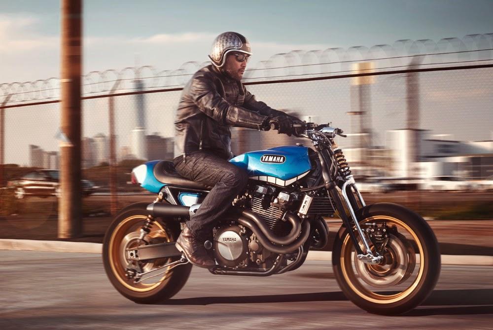Return of the Cafe Racers - Yamaha XJR1300 Rhapsody in Blue