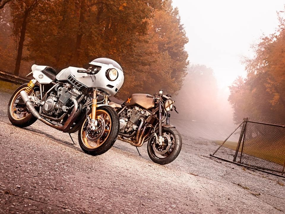 Return of the Cafe Racers - Yamaha XJR1300 Eau Rouge