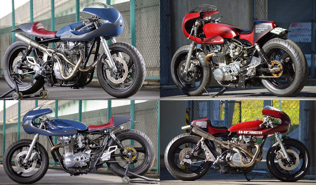 Return of the Cafe Racers - An-Bu XS650 Monsters
