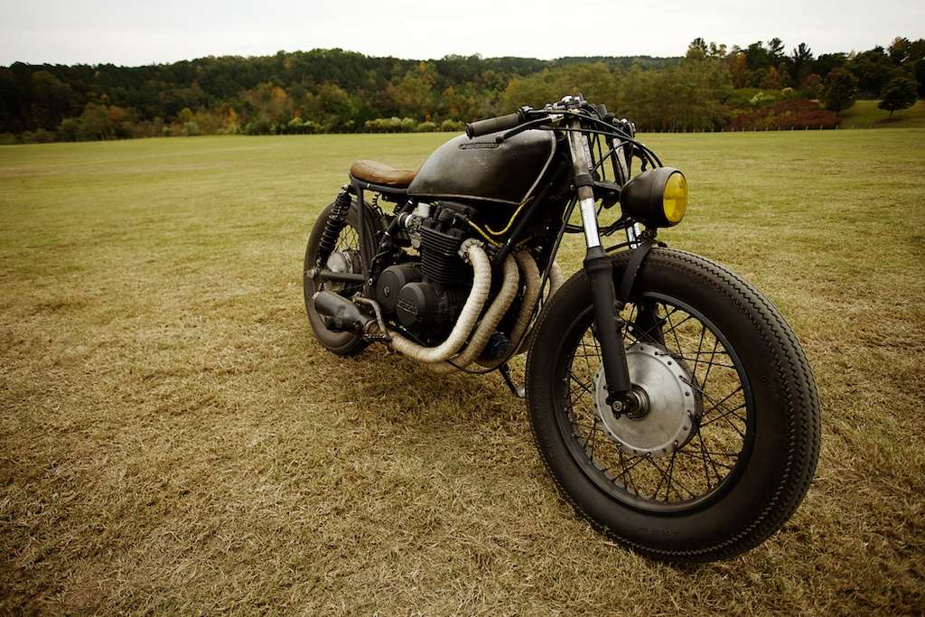 Return of the Cafe Racers - Heartbreak Cycleworks Honda CB550